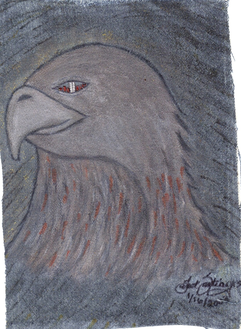 Eagle with WTC eye